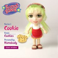 scent stars cookie
