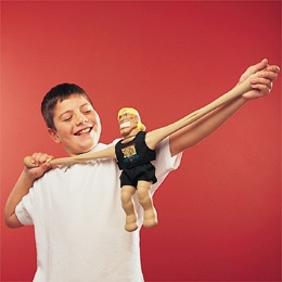 stretch-armstrong being stretched